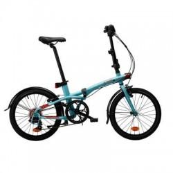 Vélo Pliant B'TWIN TILT 500 Bleu Clair