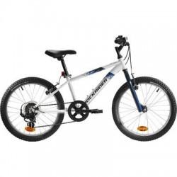 VTT Enfant B'TWIN ROCKRIDER ST 120 20'' 6-9 ans Blanc/Bleu