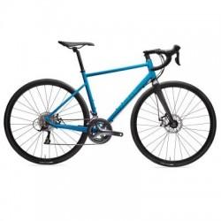 Vélo de Route TRIBAN RC 500 Bleu