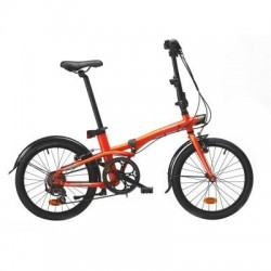 Vélo Pliant B'TWIN TILT 500 Orange