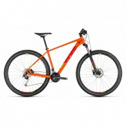 VTT CUBE Analog 29'' Orange/Rouge 2019