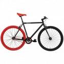 Vélo Fixie FABRICBIKE Original 28 Noir/Rouge