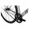 Vélo Fixie FABRICBIKE Aero Fourche Carbone Space Grey Black
