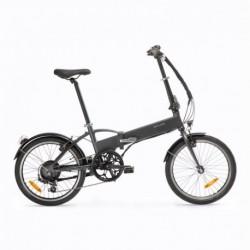 Vélo Pliant Electrique B'TWIN TILT 500 Gris/Noir